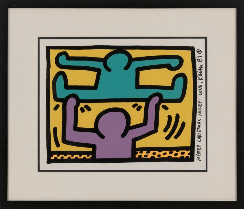 Keith Haring, 'Pop Shop I', 1987, Print, Screenprint in colors on wove paper, Heritage Auctions