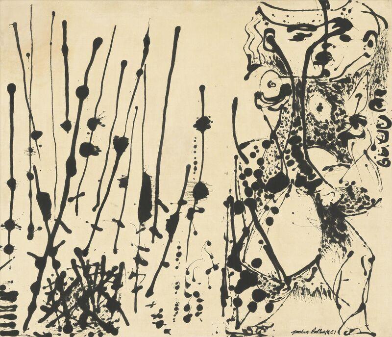 Jackson Pollock, 'Number 7, 1951', 1951, Painting, Enamel on canvas, Dallas Museum of Art