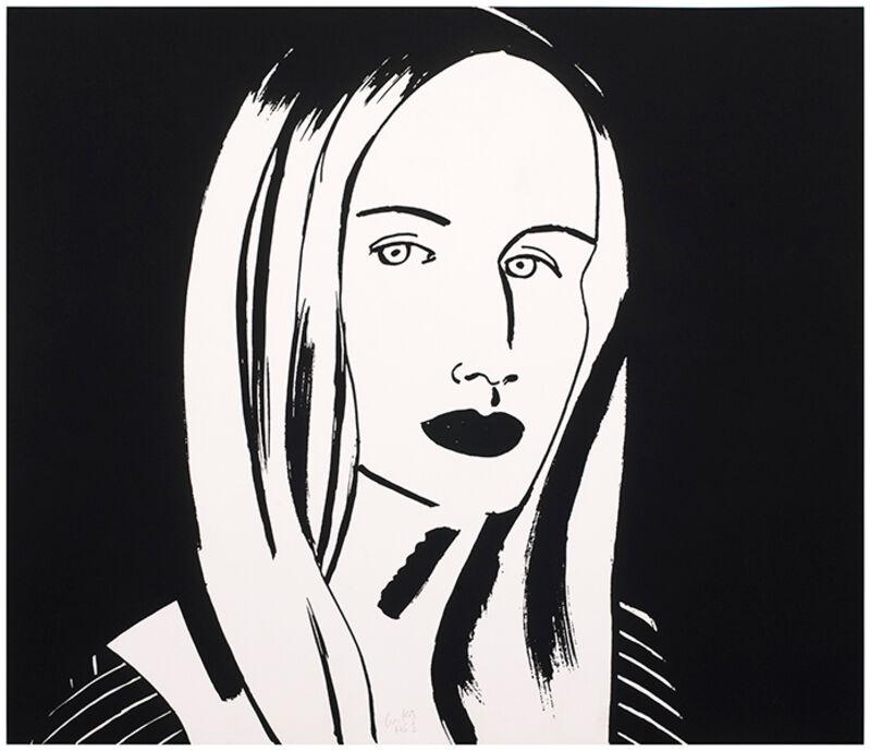 Alex Katz, 'Christine', 2013, Print, Etching, Frank Fluegel Gallery