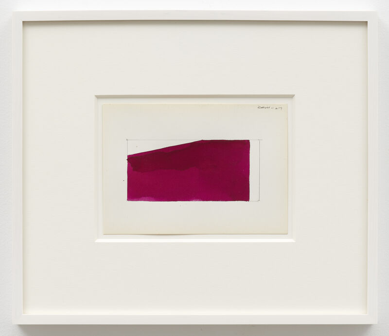 Ted Stamm, 'DRM 27', 1980, Drawing, Collage or other Work on Paper, Watercolour on paper, Lisson Gallery