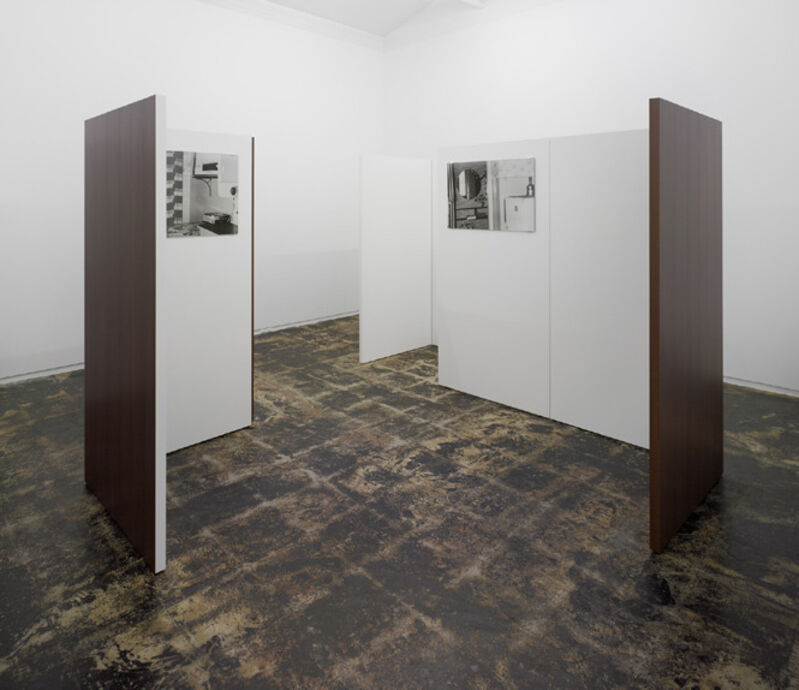 Yuki Kimura, 'Interior 6L01~107T(detail)', 2012, Photography, 9 gelatin silver prints mounted on alpolic, wood, glass, stainless steel, Taka Ishii Gallery