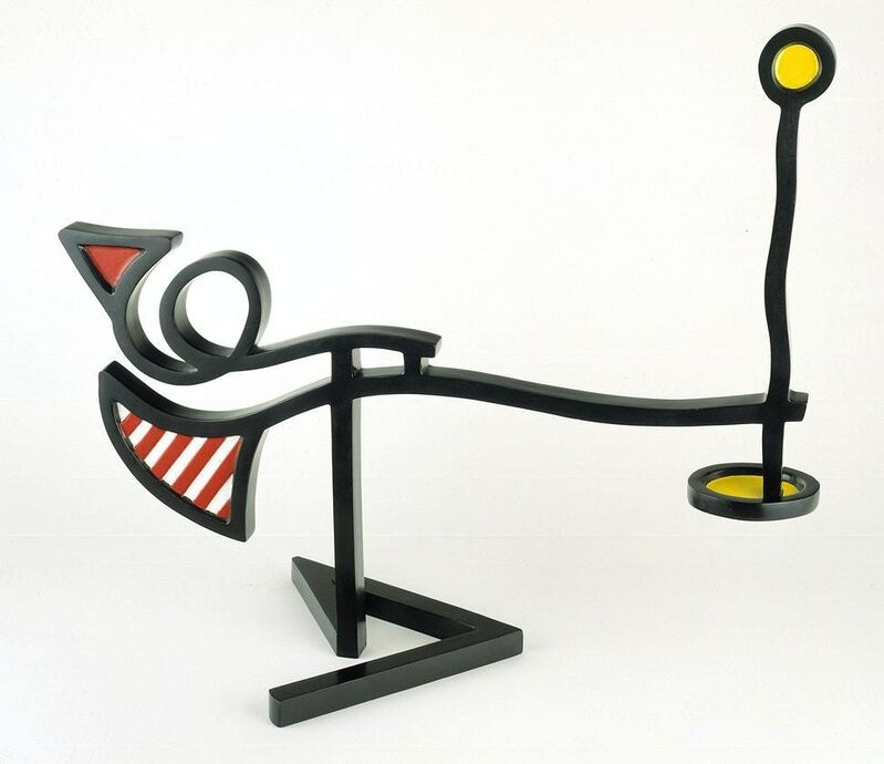 Roy Lichtenstein, 'Mobile II', 1990, Sculpture, Painted and Patinated Bronze, ArtLife Gallery