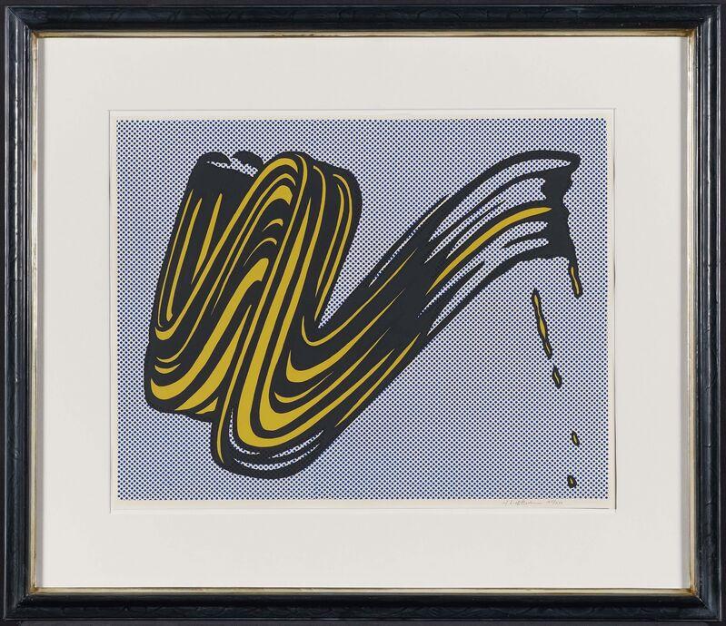 Roy Lichtenstein, 'Brushstroke', 1965, Print, Colour silkscreen on thin card, Van Ham