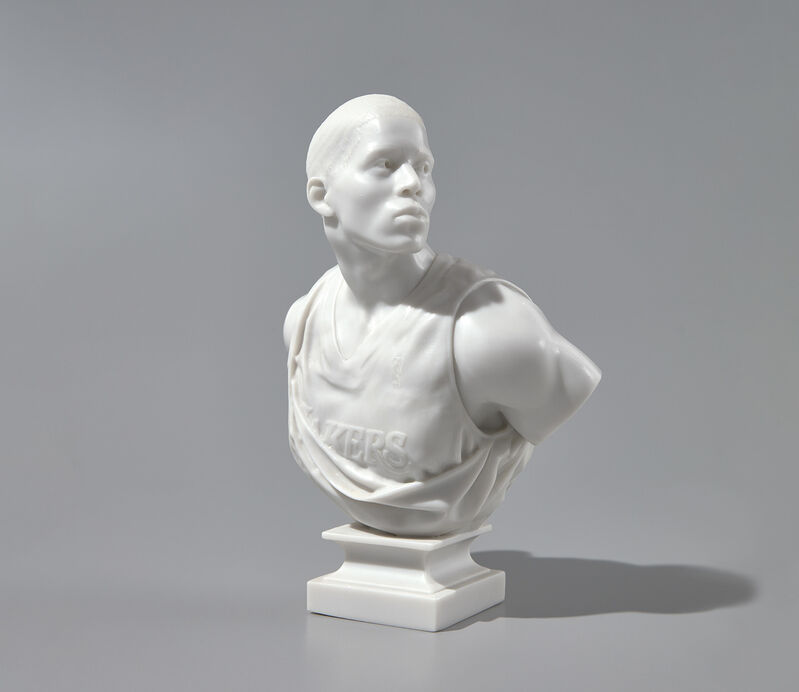 Kehinde Wiley, 'After La Negresse, 1872', 2007, Sculpture, Cast marble dust and resin multiple., Phillips