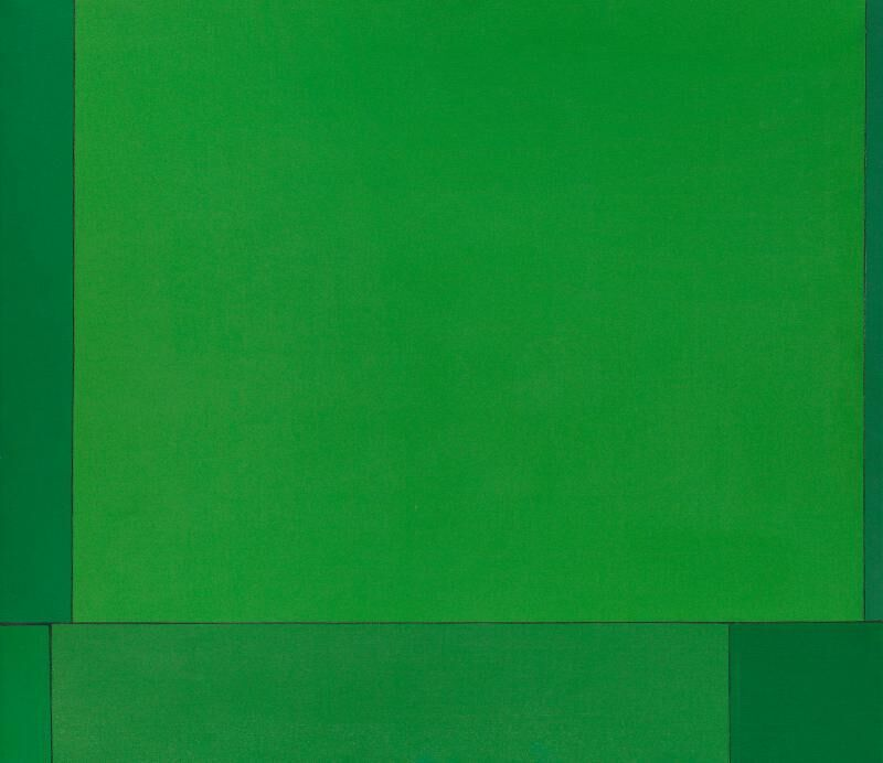 Ludwig Sander, 'Manitou', 1965, Painting, Oil on canvas, Berry Campbell Gallery