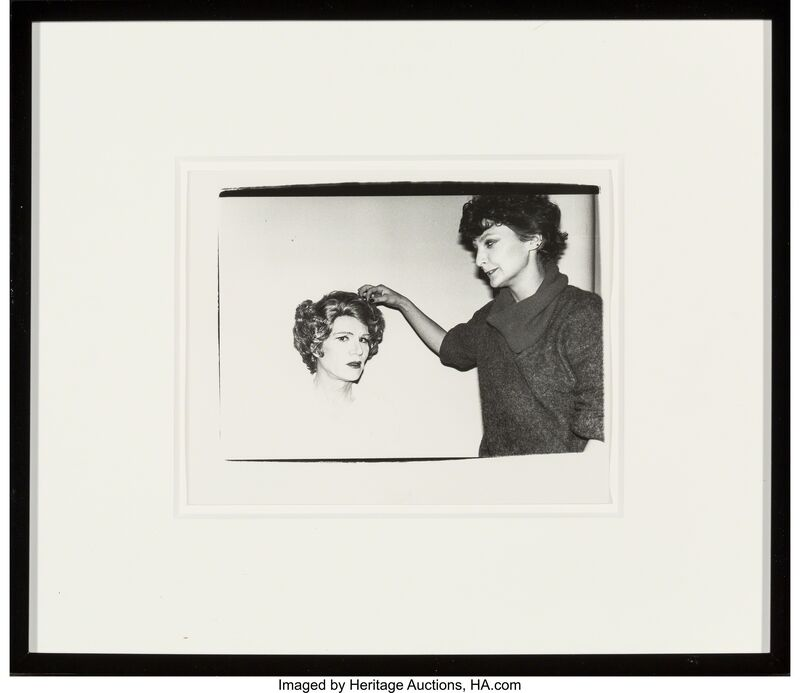 Andy Warhol, 'Andy Warhol in Drag', 1980, Photography, Gelatin silver, Heritage Auctions