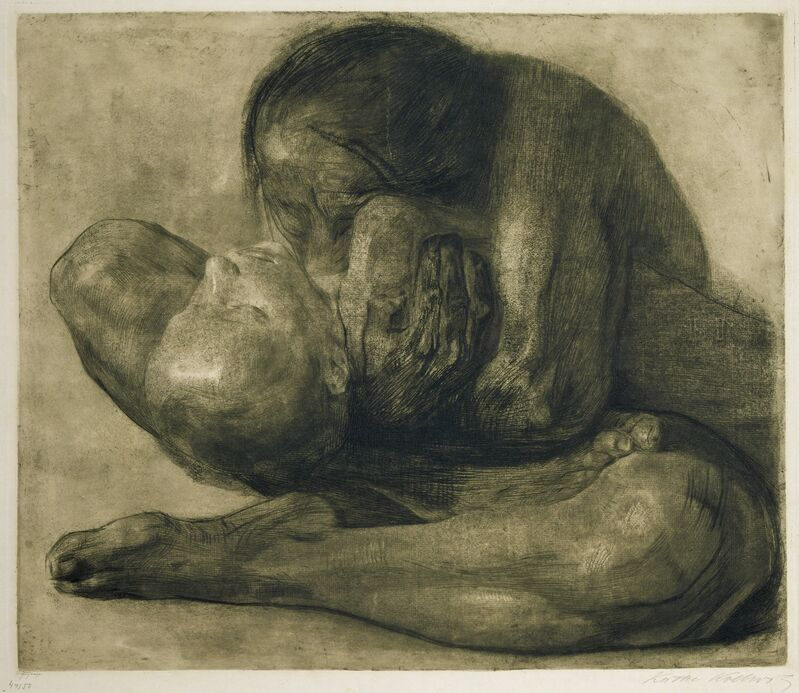 Käthe Kollwitz, 'Woman with Dead Child', 1903, Drawing, Collage or other Work on Paper, Etching, Art Resource