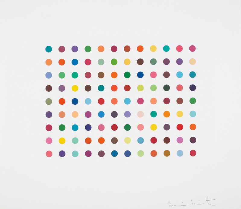 Damien Hirst, 'Doxylamine', 2007, Print, Etching in colours, on Hahnemühle paper, with full margins., Phillips