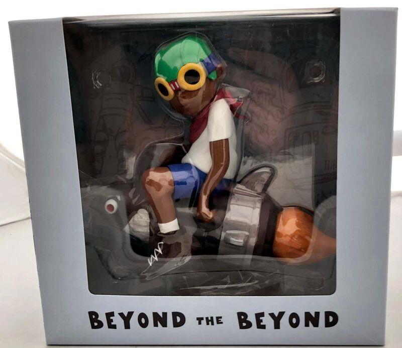 Hebru Brantley, 'Hebru Brantley Flyboy & Lil Mama (Gaia)', 2018/2021, Sculpture, Painted cast vinyl, Lot 180