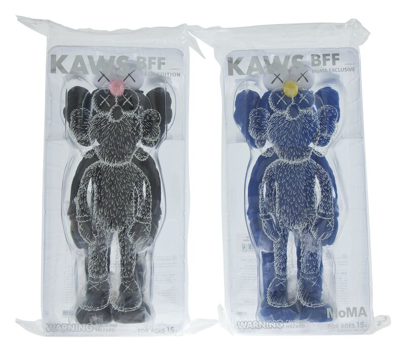 KAWS, 'BFF Companion (two works)', 2017, Sculpture, Painted cast vinyl, Heritage Auctions