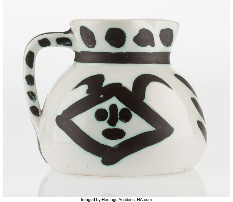 Pablo Picasso, 'Têtes (A./R., 368)', 1956, Other, Ceramic pitcher, with handpainting and partial glazing, Heritage Auctions
