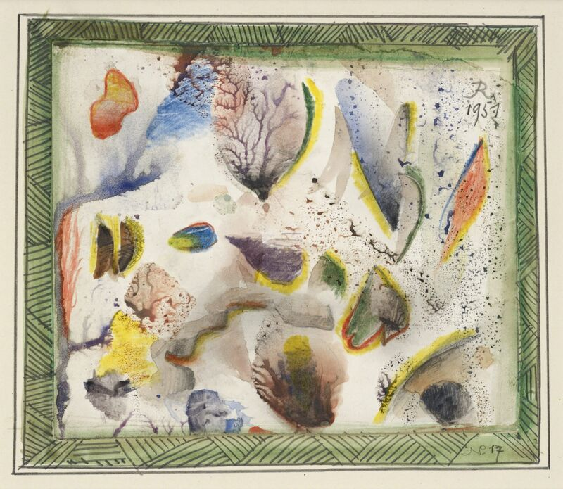 Hans Reichel, 'Untitled', 1951, Drawing, Collage or other Work on Paper, Watercolour and pencil on paper, Jeanne Bucher Jaeger