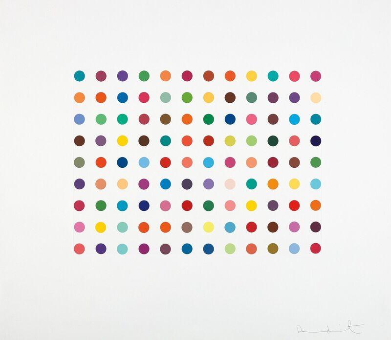 Damien Hirst, 'Doxylamine', 2007, Print, Etching, Oliver Clatworthy
