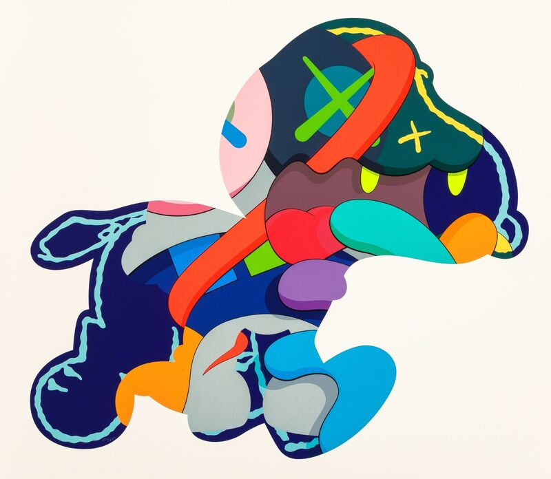 KAWS, 'No One's Home; Stay Steady; The Things That Comfort (three works)', 2015, Print, Silkscreen on paper, Heritage Auctions