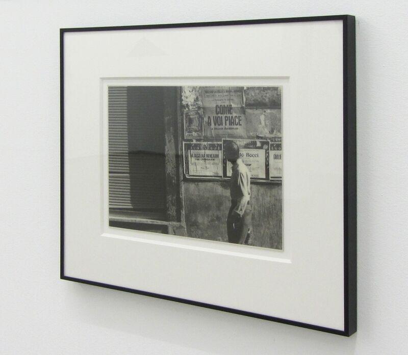 Luis Camnitzer, 'Reflection', 1973, Photography, B/W photographs, 11 sheets Series, print, Parra & Romero