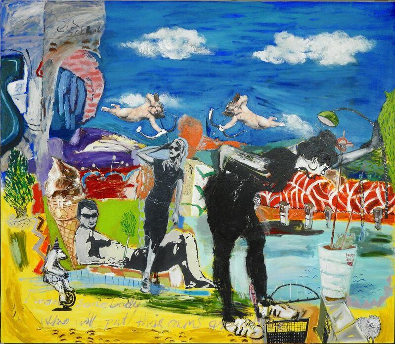 Recep Batuk, 'I want somebody', 2018, Painting, Oil on canvas, Liquid Art System