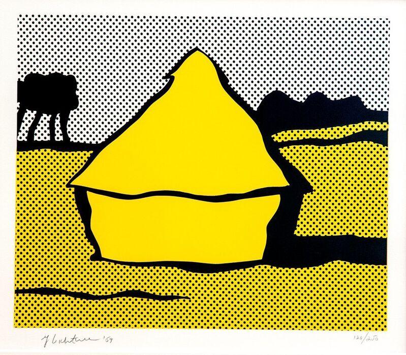 Roy Lichtenstein, 'Haystack', 1969, Print, Screenprint on Paper, Gerald Hartinger Fine Arts