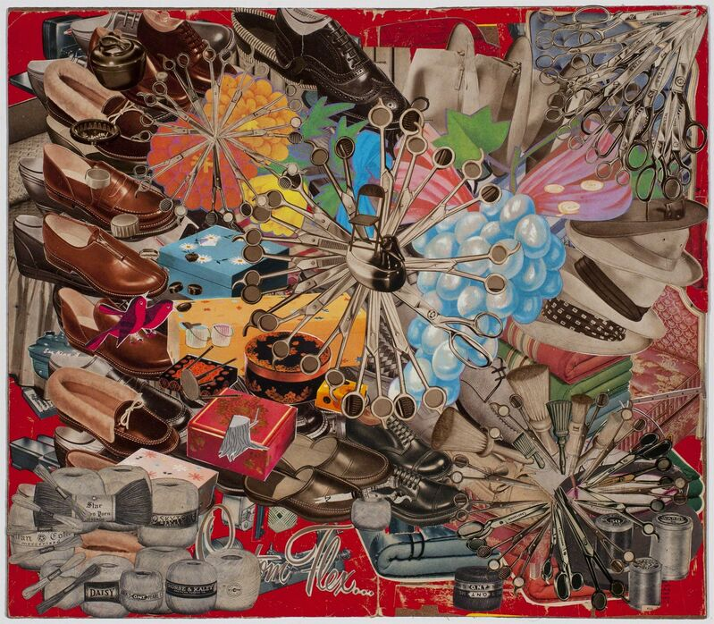 Lance Letscher, 'Ball of Yarn', 2016, Drawing, Collage or other Work on Paper, Collage, TAI Modern