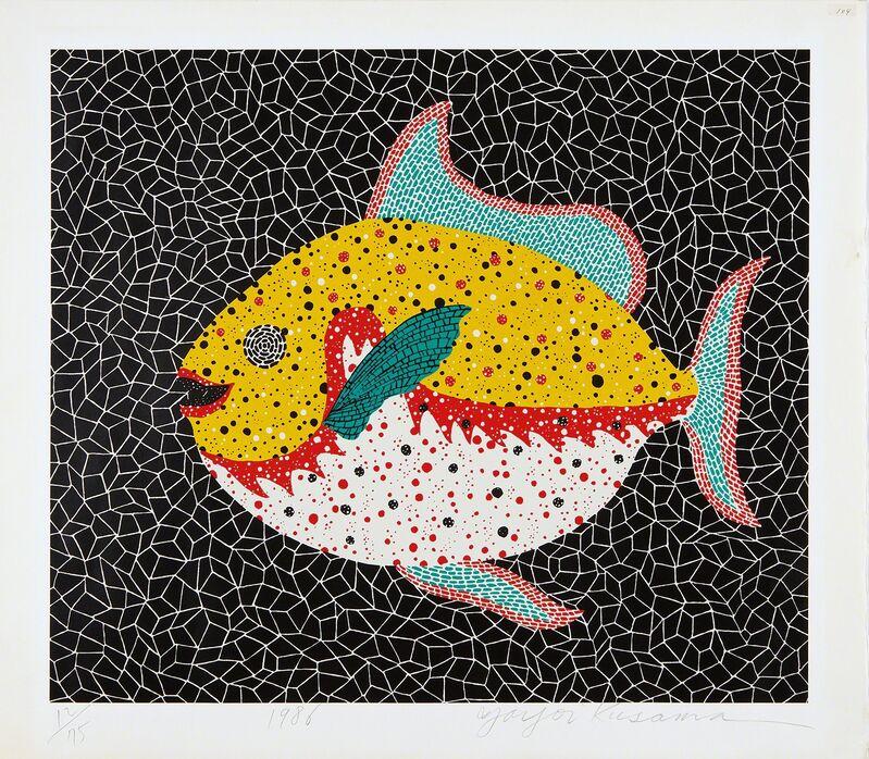 Yayoi Kusama, 'Fish', 1986, Print, Screenprint in colors, on Izumi paper, with full margins., Phillips