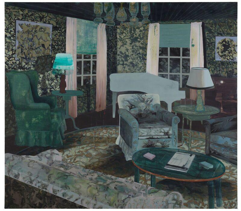 Kristina Jansson, 'Oscars Books', 2012, Painting, Oil on canvas, Andréhn-Schiptjenko