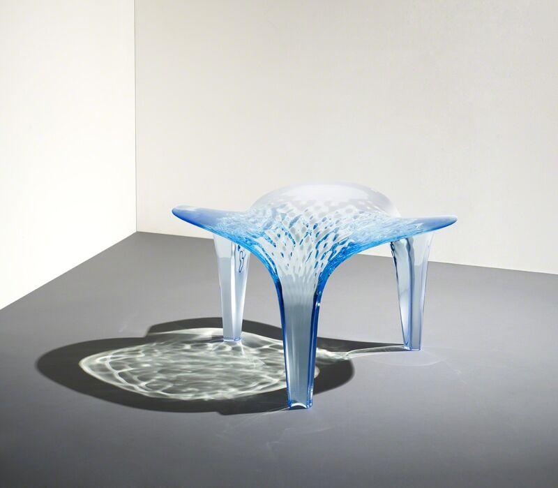 Zaha Hadid, 'Stool 'Liquid Glacial' ', 2015, Design/Decorative Art, Acrylic, David Gill Gallery