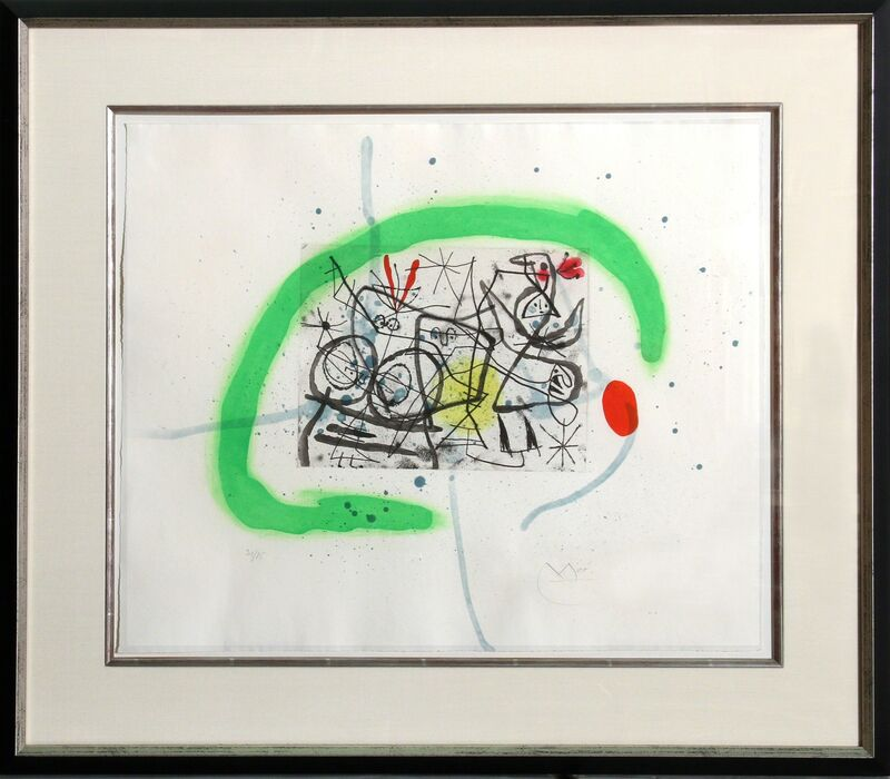 Joan Miró, 'Preparatifs d'Oiseau IV (Dupin 368)', 1963, Print, Aquatint, RoGallery