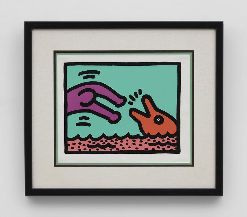 Keith Haring, 'Pop Shop V (Quad 1)', 1989, Print, Screenprint, IKON Ltd. Contemporary Art
