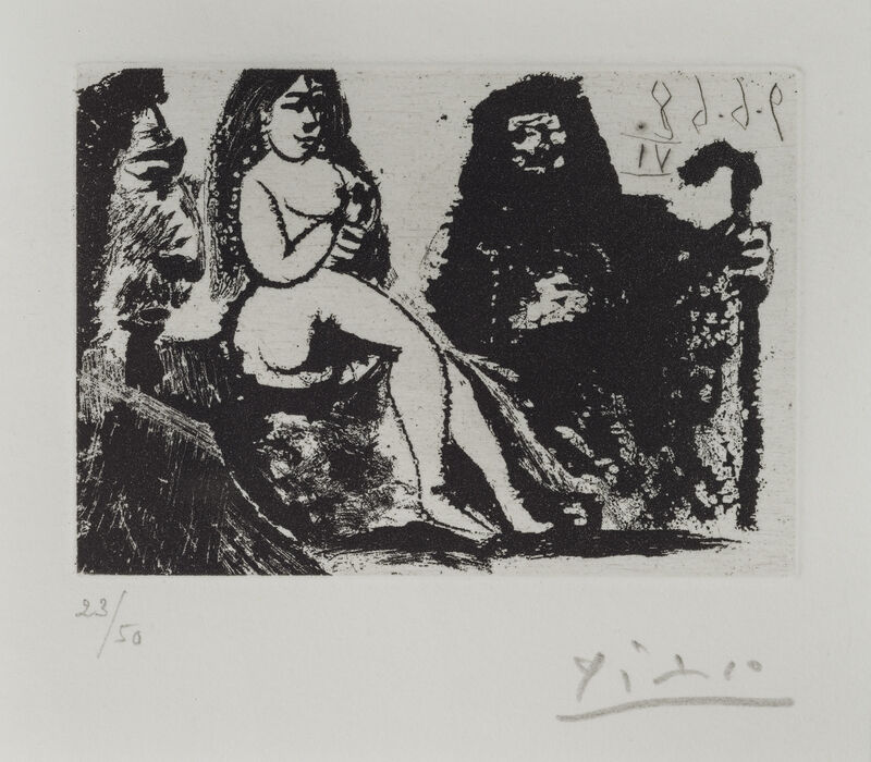Pablo Picasso, 'Untitled - Number 151 from 347 Series', 1968, Print, Etching and aquatint, Pettibone Fine Art