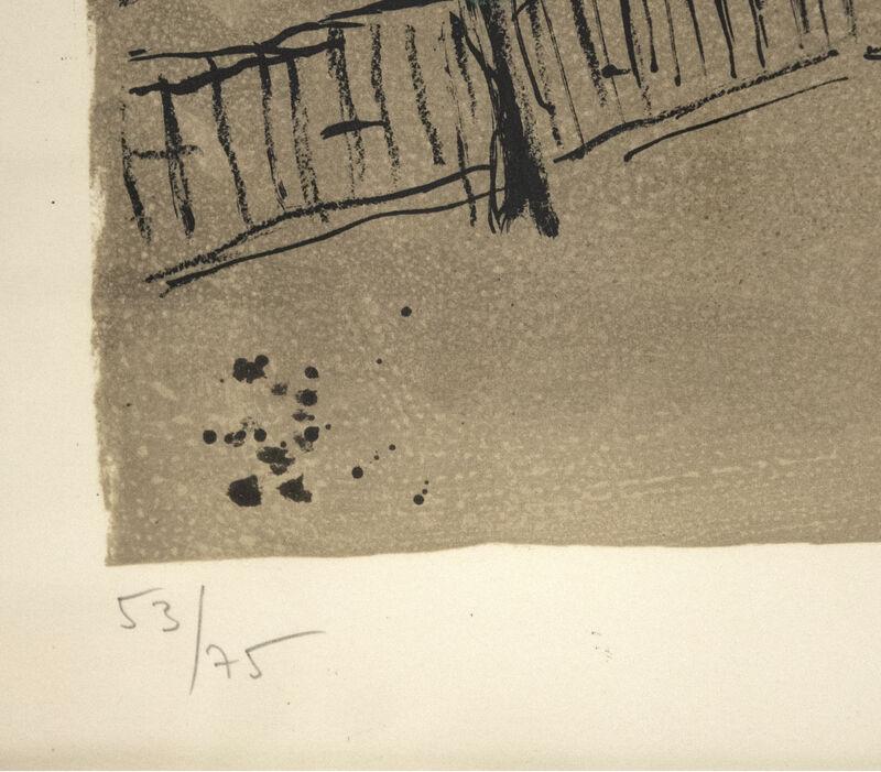 Marc Chagall, 'The Yellow Sun', 1968, Print, Lithograph, Heather James Fine Art