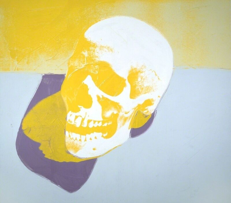 Andy Warhol, 'Skull', 1976, Painting, Synthetic polymer paint and silkscreen ink on canvas, Gagosian
