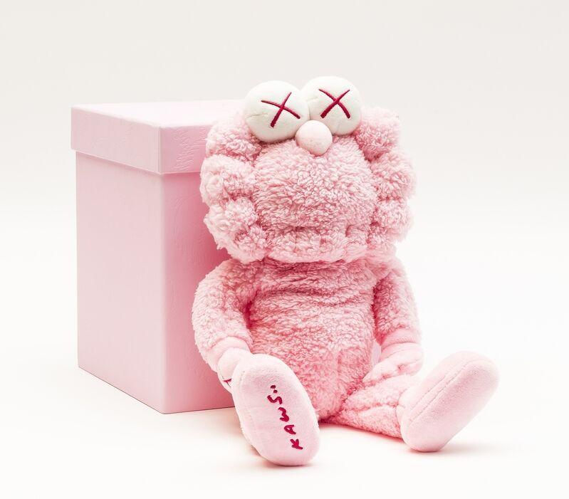 KAWS, 'BFF Plush (Pink)', 2019, Sculpture, Polyester plush, Forum Auctions