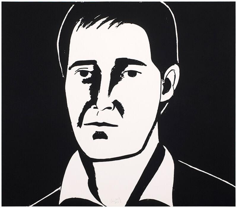 Alex Katz, 'Javier', 2013, Print, Etching. Signed and numbered., Frank Fluegel Gallery