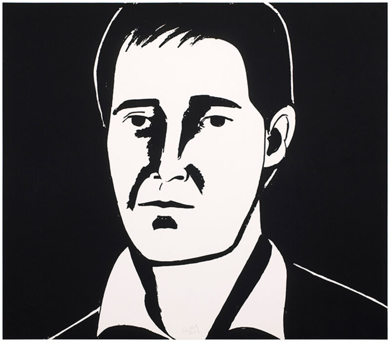 Alex Katz, 'Javier', 2013, Print, Photoengraving and aquatint on Somerset satin white 300 gsm paper, Haw Contemporary