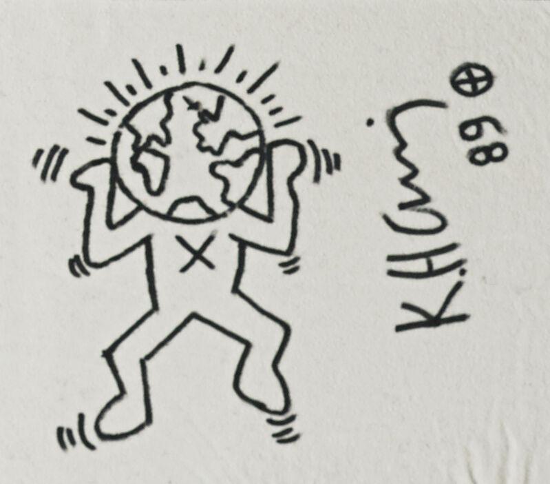 Keith Haring, 'Greenpeace', 1989, Mixed Media, Marker on Greenpeace cotton T-shirt, Rago/Wright
