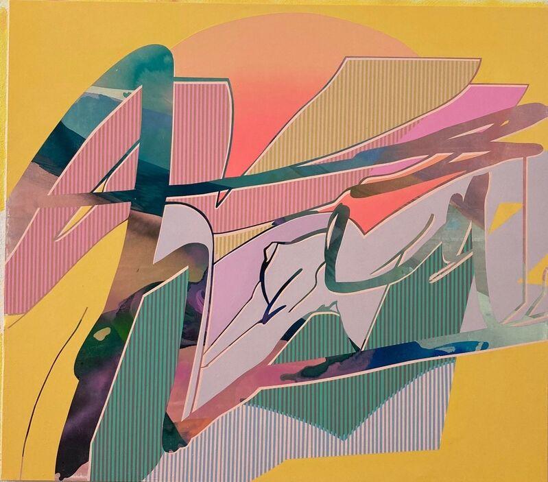 Kathryn MacNaughton, 'Descent', 2021, Painting, Acrylic on canvas, MAGMA gallery