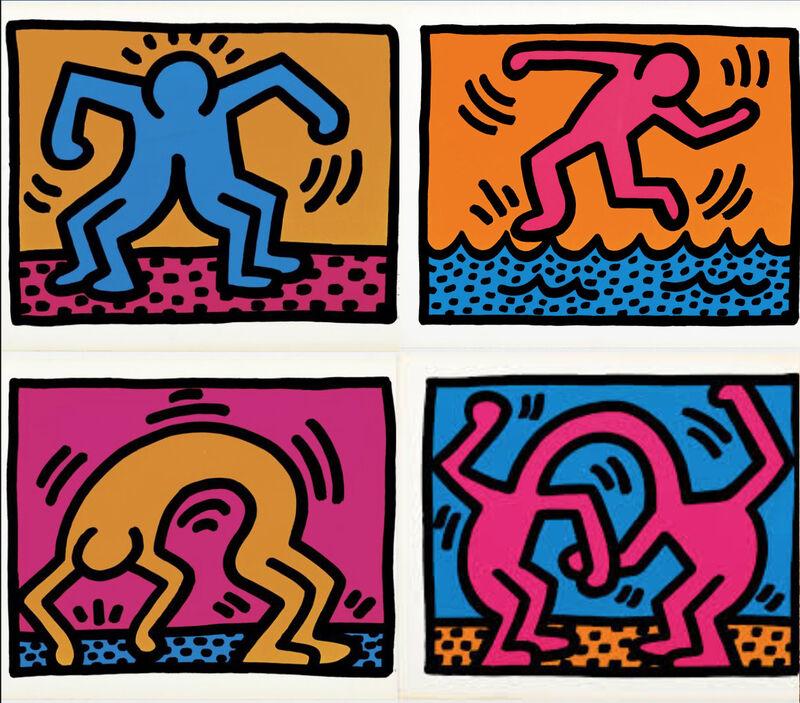 Keith Haring, 'Pop Shop II Complete Portfolio', 1988, Print, Screenprint in colors on wove paper, Marcel Katz Art