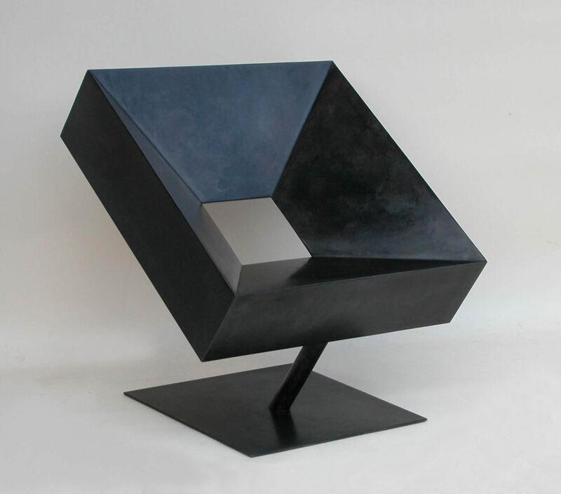 Stéphane Ducatteau, 'Fauteuil Cadre', 2016, Design/Decorative Art, Steel patina, Galerie Olivier Waltman | Waltman Ortega Fine Art