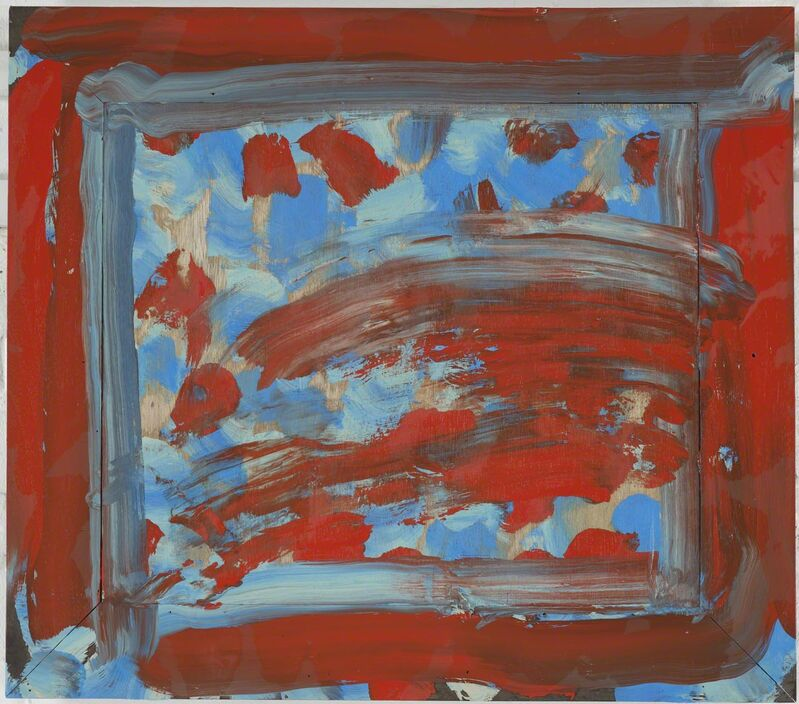 Howard Hodgkin, 'Flowers', 2011, Painting, Oil on wood, Gagosian