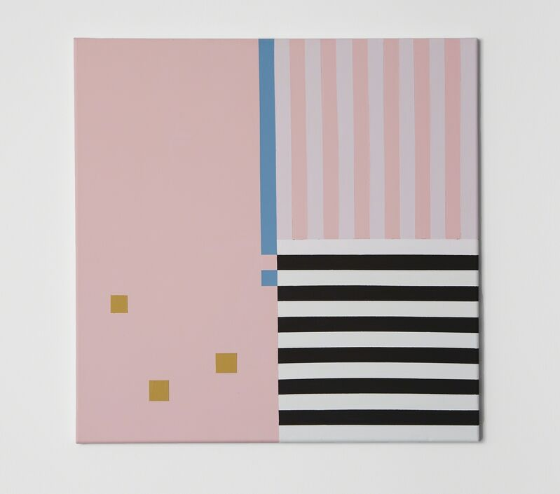 Aaron Kaveh Ossia, 'Untitled – 1,2,3 and 4', 2018, Painting, Acrylic on canvas, Alfa Gallery