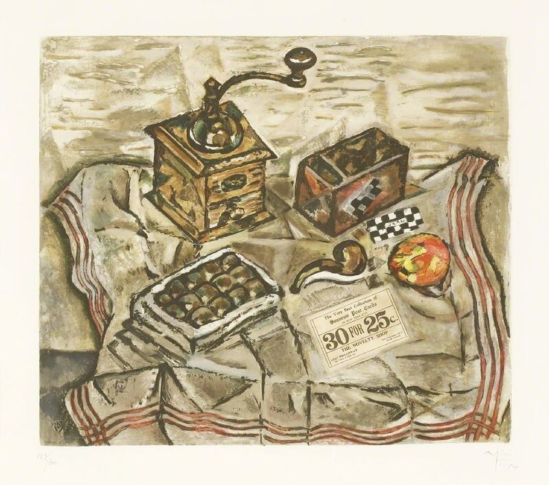 Joan Miró, 'Le Moulin À Café (Maeght 1701)', 1954, Print, Etching with aquatint printed in colours, Sworders