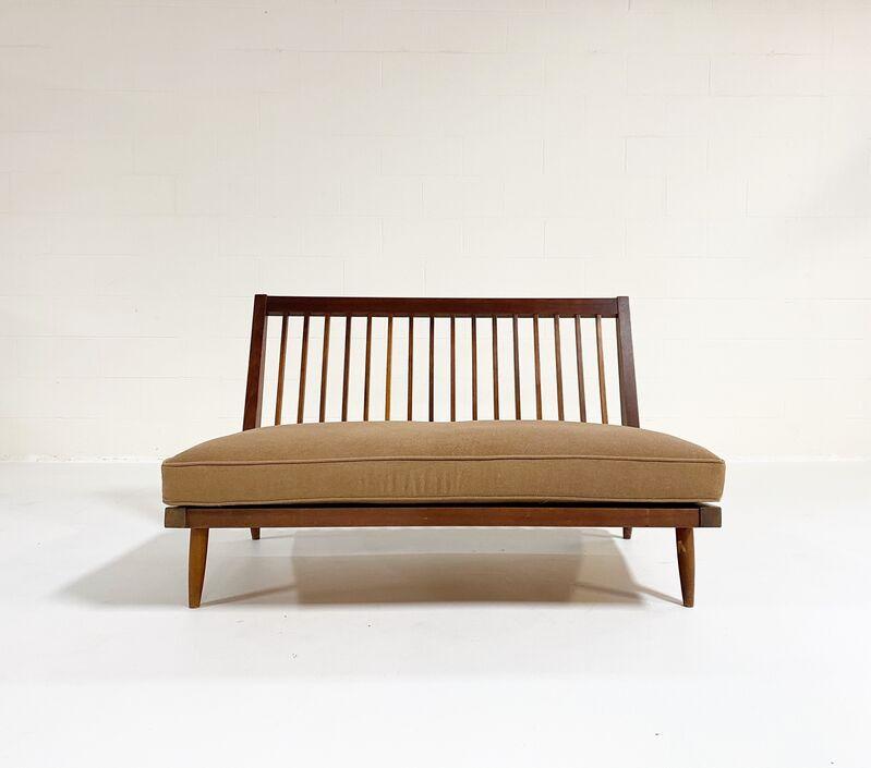 George Nakashima, 'Settee with Loro Piana Cashmere Cushions', 1970, Design/Decorative Art, American Black Walnut, Cashmere, Forsyth