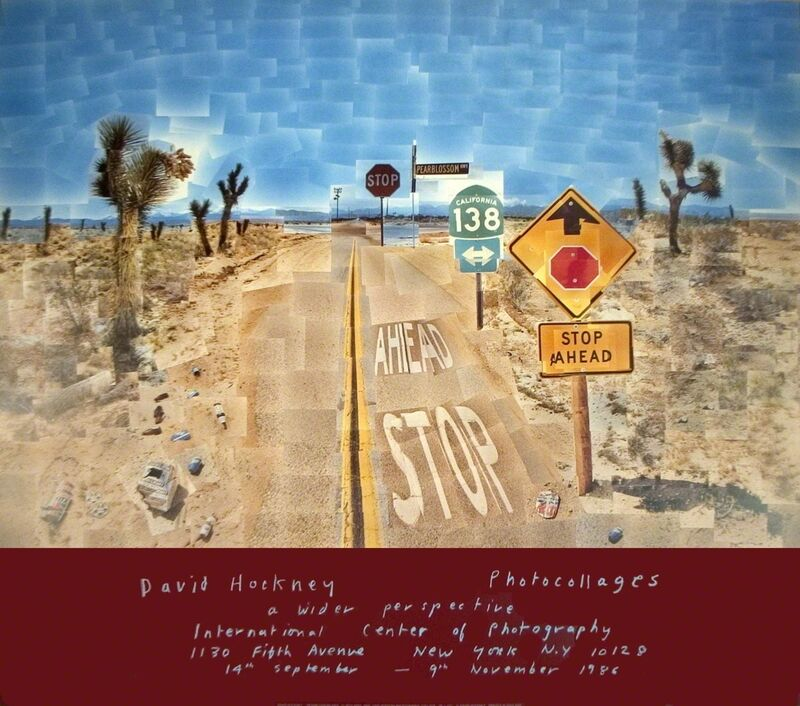 David Hockney, 'Pearblossom Highway', 1986, Ephemera or Merchandise, Offset Lithograph, ArtWise