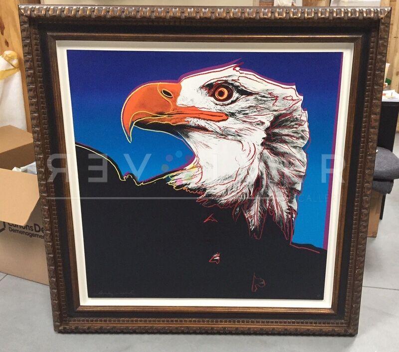Andy Warhol, ' Bald Eagle (FS II.296)', 1983, Print, Screenprint on Lenox Museum Board, Revolver Gallery