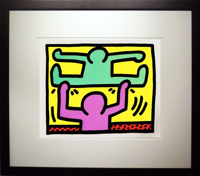 Keith Haring, 'Pop Shop I D', 1987, Print, Silkscreen, Soho Contemporary Art
