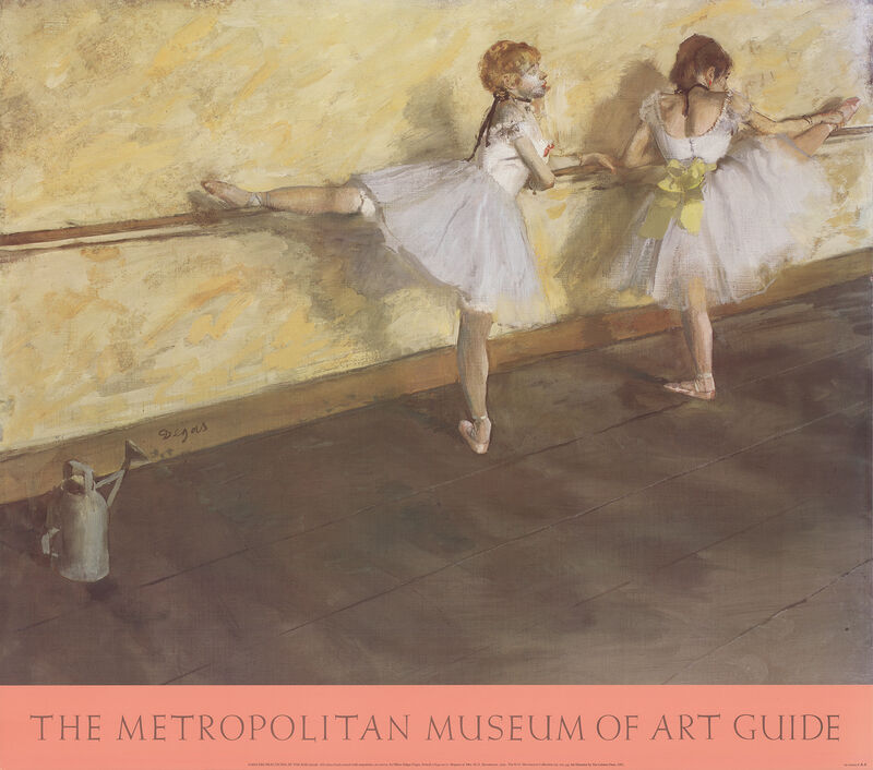 Edgar Degas, 'Dancers Practicing at the Bar', 1950, Posters, Offset Lithograph, ArtWise