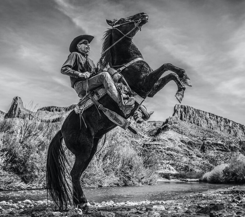 David Yarrow, 'Living without Boarders', 2020, Photography, Digital Pigment Print on Archival 315gsm Hahnemuhle Photo Rag Baryta Paper, Samuel Owen Gallery