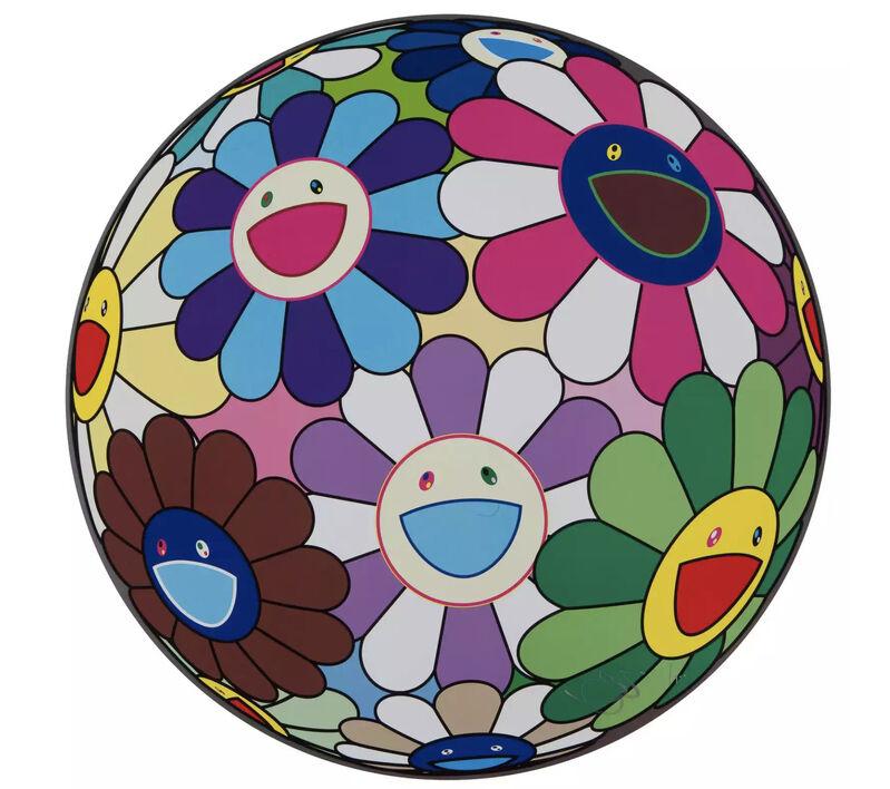 Takashi Murakami, 'Flower Ball (Dumpling)', 2013, Print, Lithograph, Taglialatella Galleries