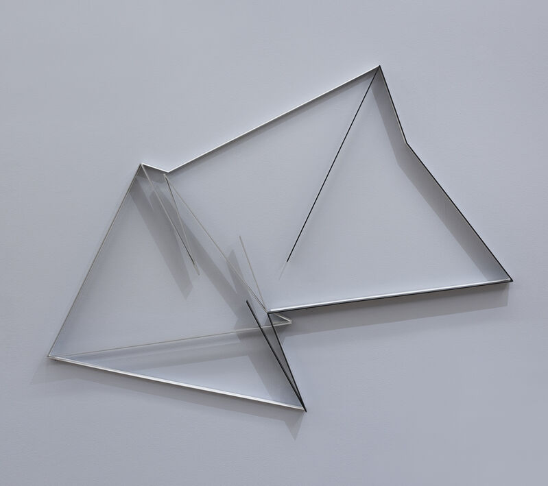 Manfred Mohr, 'P-522/H', 1997, Sculpture, Painted steel, bitforms gallery