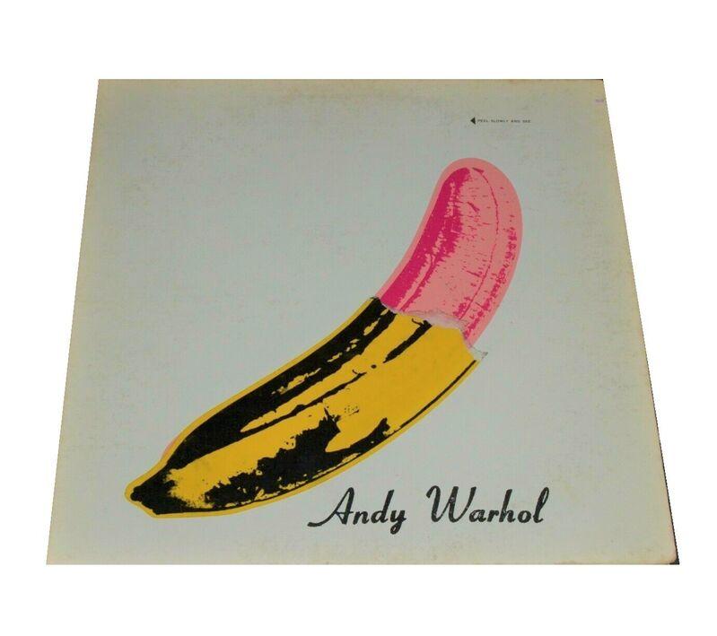 "Andy Warhol, '""Andy Warhol"", The Velvet Underground & Nico, Banana Sticker Half Peeled, Stereo Pressing Air Brushed Version.', 1968, Ephemera or Merchandise, Mixed Media, VINCE fine arts/ephemera"