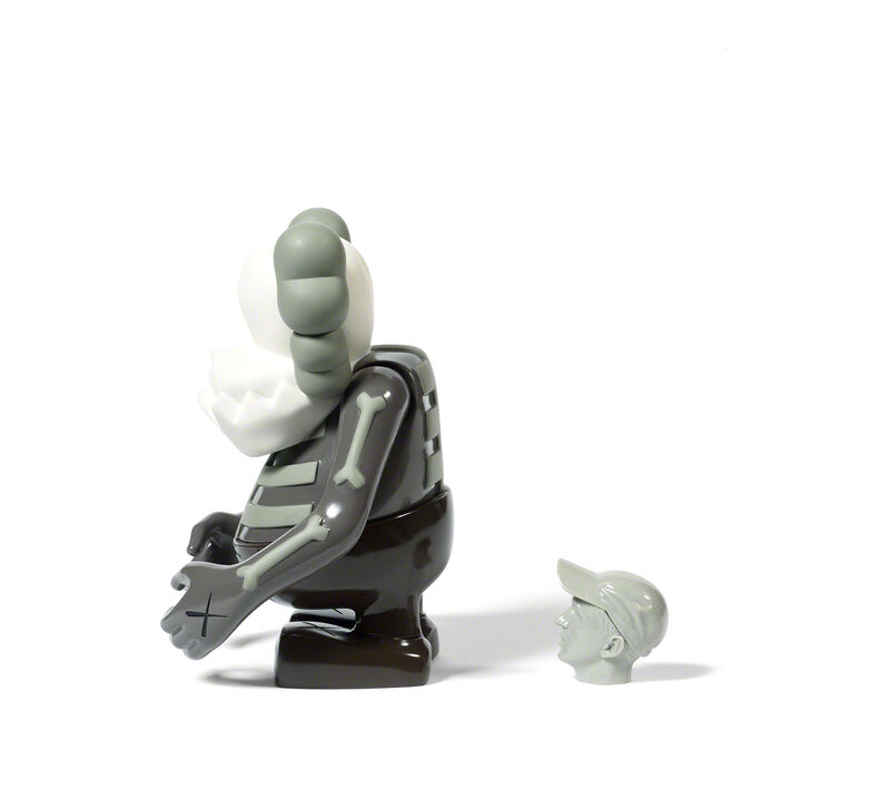 KAWS, 'SKULL KUN (Brown)', 2006, Sculpture, Painted cast vinyl, DIGARD AUCTION